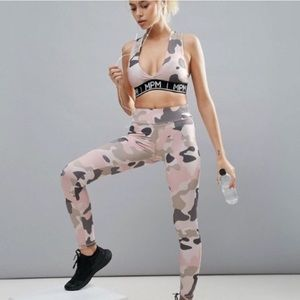 c87c40c16afaf MINKPINK Intimates   Sleepwear - Minkpink Move Survivor Camo Sports Bra